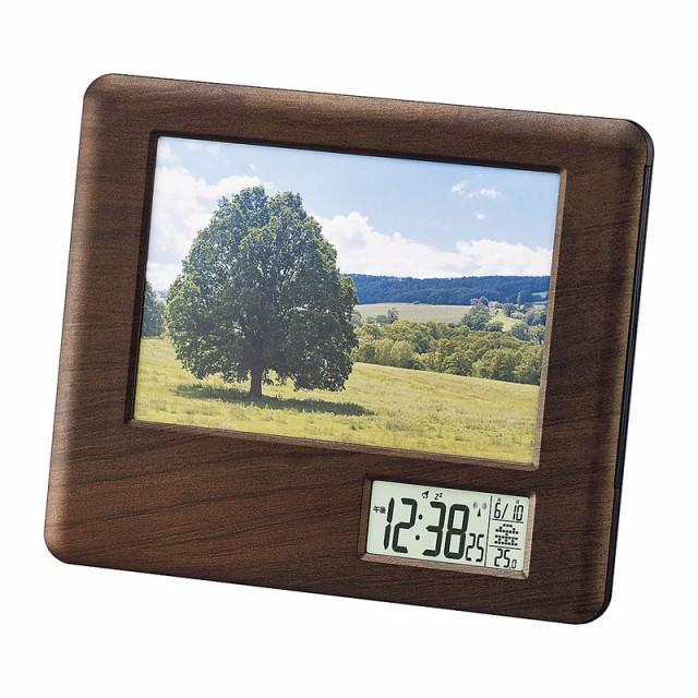 【3000均一×送料無料】フォトフレーム 写真立て 時計 温度計 日付 おしゃれ 家具 インテリア 3000円ぽっきり