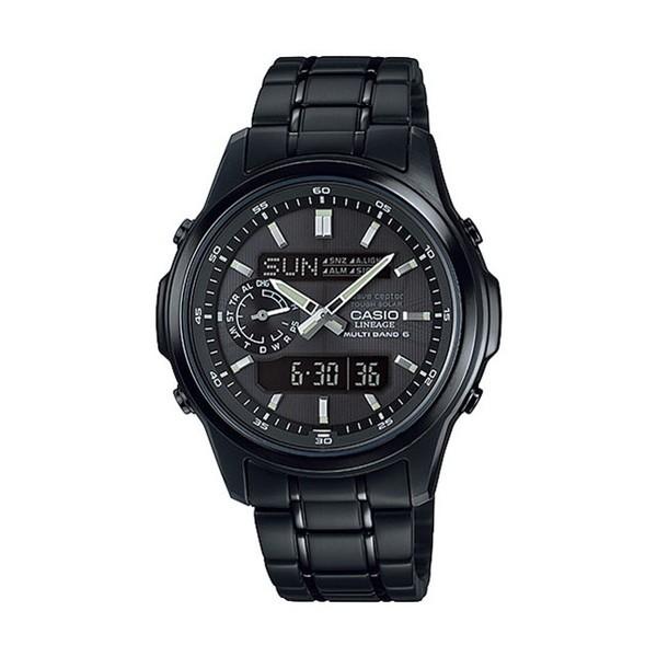 CASIO LCW-M300DB-1AJF ブラック リニエージ [腕時計(ソーラー電波)]