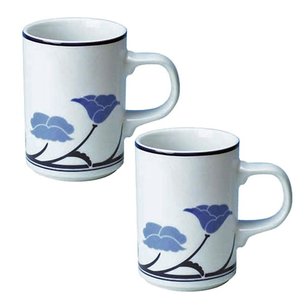 DANSKダンスク TIVOLIチボリマグカップ300cc ブルー×2