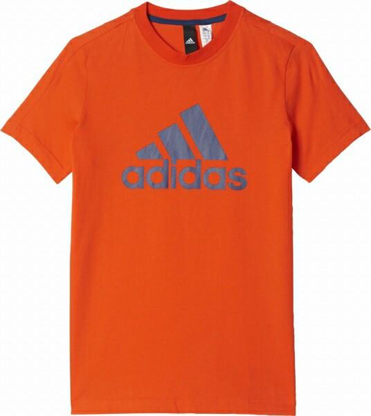 アディダス 半袖Tシャツ ジュニア Boys ESS ビッグロゴ Tシャツ MLB26,BR1022 adidas 17SS