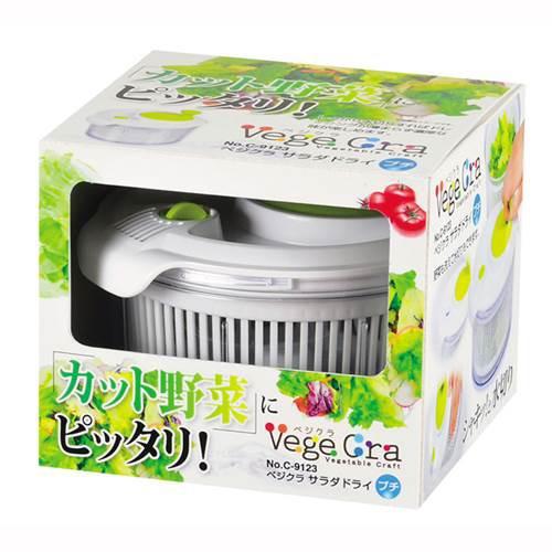 野菜の水切り器 カット野菜 サラダドライスピナー ミニ
