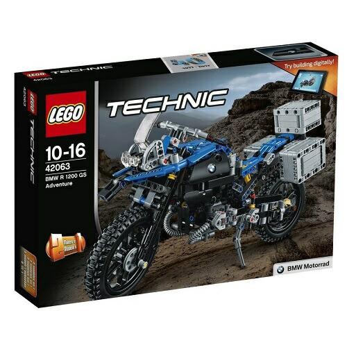 5702015869706:レゴ テクニック BMW R 1200 GS アドベンチャー 42063【新品】 LEGO 知育玩具