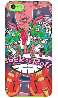 【スマホケース スマホカバー】ナカイシンヤ 「BAKABAKA」 / for iPhone 5c/au【ケース/カバー/CASE/ケス】【スマートフォン ケース カ