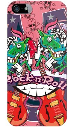 【スマホケース スマホカバー】ナカイシンヤ 「BAKABAKA」 / for iPhone 5s/au【ケース/カバー/CASE/ケス】【スマートフォン ケース カ