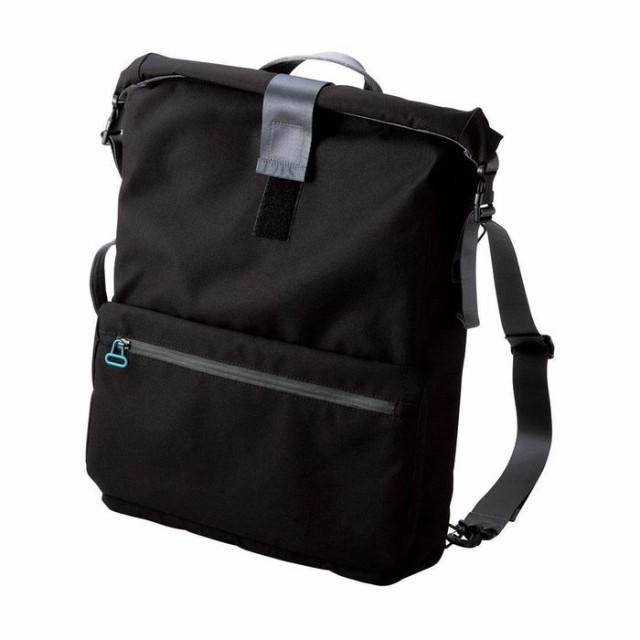 重いPCもいつもの荷物もまとめて持ち運べる! PCキャリングバッグ undress 3wayタイプ ブラック エレコム BM-CA39BK
