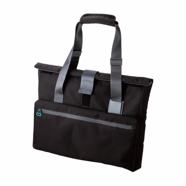 重いPCもいつもの荷物もまとめて持ち運べる! PCキャリングバッグ undress トートタイプ ブラック エレコム BM-CA41BK