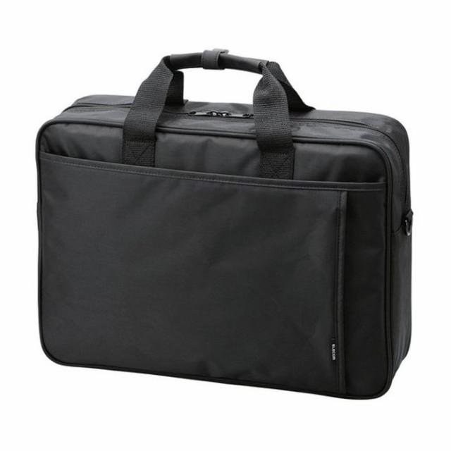 太マチ大容量のキャリングバッグ スタンダード Large 16.4インチ対応 ブラック エレコム BM-SDLABK