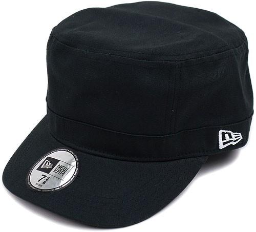 NEWERA ニューエラ キャップ CAP WM-01 ミリタリー ワークキャップ ブラック(N0002224 SC/11135293)