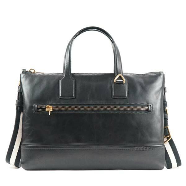 バリー BALLY ブリーフケース/ビジネスバッグ BUSINESS BAG 280 BLACK/BEIGE BK【送料無料】