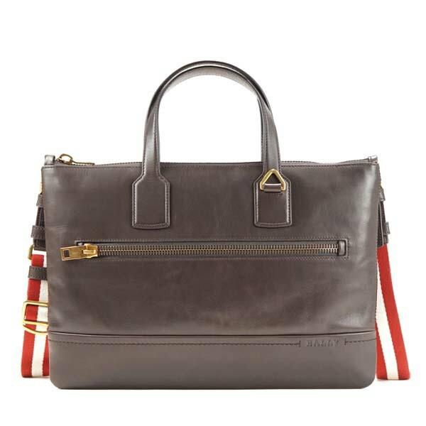 バリー BALLY ブリーフケース/ビジネスバッグ BUSINESS BAG 261 RED BALLY/BEIGE BR【送料無料】