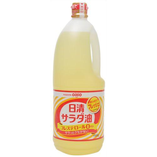 日清 サラダ油 1500g 日清オイリオグループ