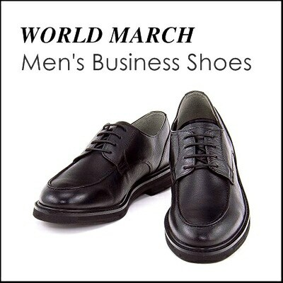 WORLD MARCH(ワールドマーチ) メンズ ビジネスシューズ 限定 WM2981 ブラック