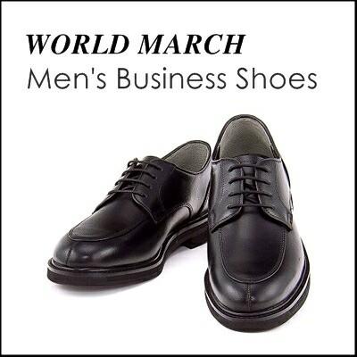 WORLD MARCH(ワールドマーチ) メンズ ビジネスシューズ 限定 WM2982 ブラック