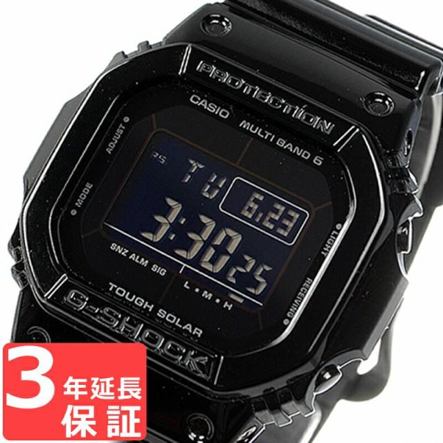 G-SHOCK CASIO カシオ Gショック Grossy Black Series デジタル 電波ソーラー GW-M5610BB-1DR ブラック 海外モデル