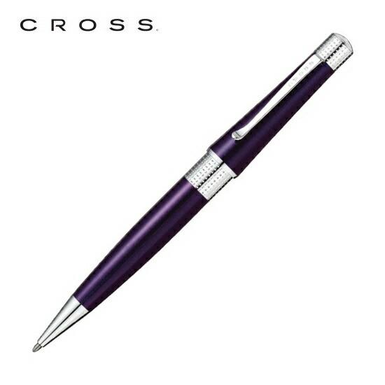 CROSS クロス 筆記用具 ボールペン ベバリー ディープパープル AT0492-7