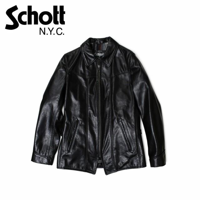 ショット ライダースジャケット Schott ジャケット レザージャケット LEATHER JACKET 662 ブラック メンズ