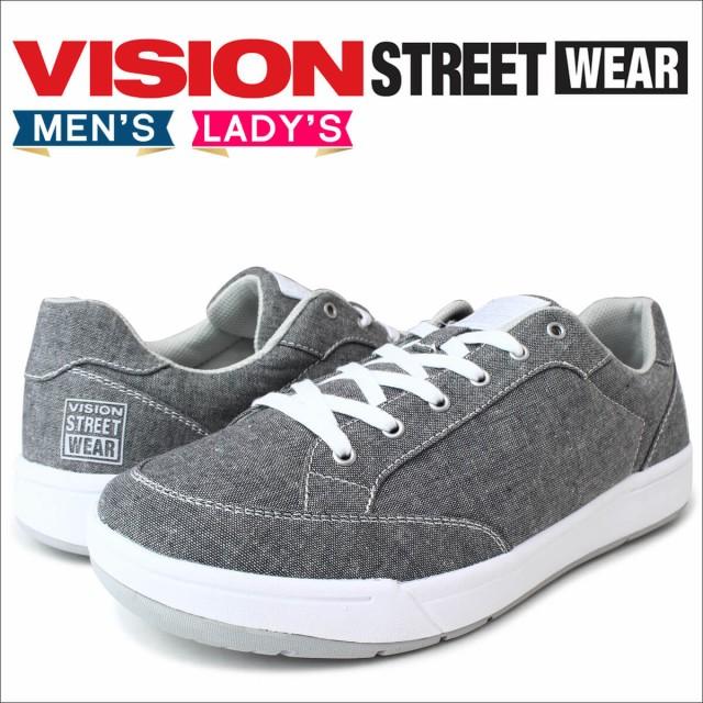 VISION STREET WEAR ヴィジョン ストリート ウェア スニーカー メンズ レディース LANCASTER VSW,7112 靴 グレー