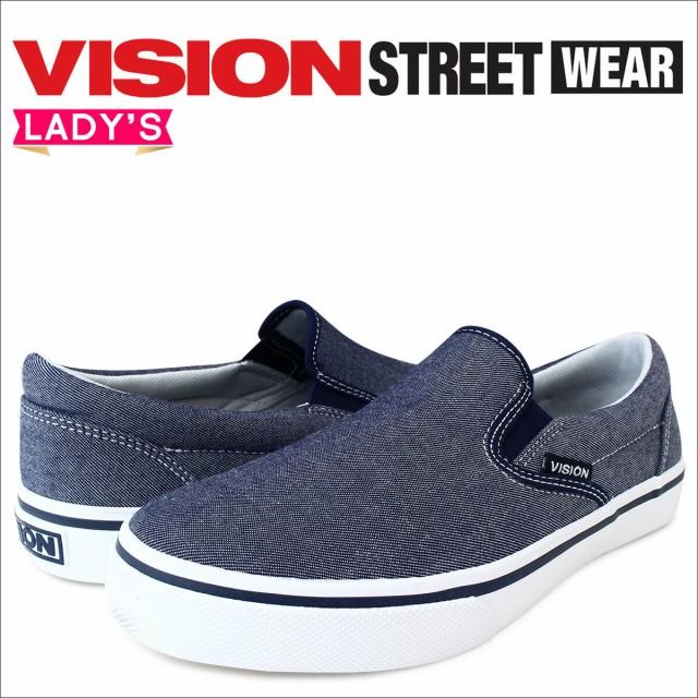 VISION STREET WEAR ヴィジョン ストリート ウェア スニーカー メンズ レディース FULTON VSW,7151 靴 ネイビー