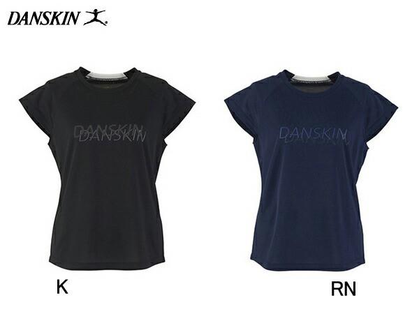 ダンスキン:【レディース】フレンチT【DANSKIN スポーツ フィットネス Tシャツ 半袖】