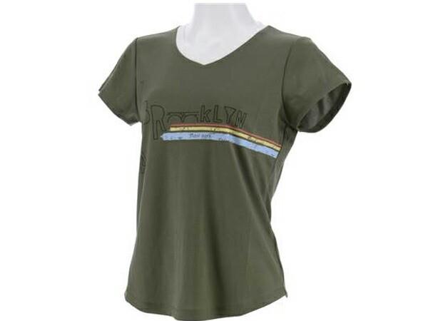 ダンスキン:【レディース】Tシャツ【DANSKIN スポーツ フィットネス Tシャツ 半袖】