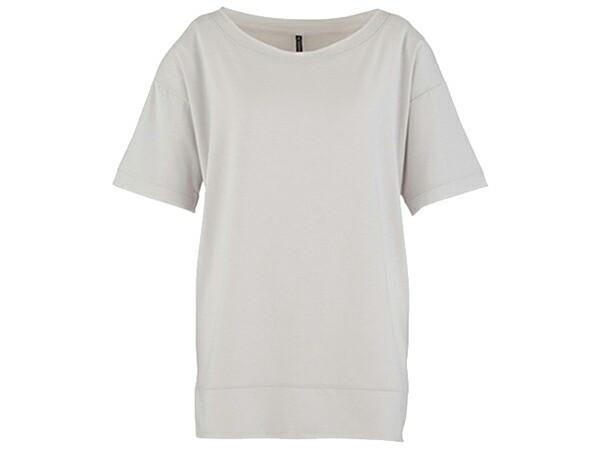 ダンスキン:【レディース】ロングレングス Tシャツ【DANSKIN ヨガ ウェア Tシャツ 半袖】