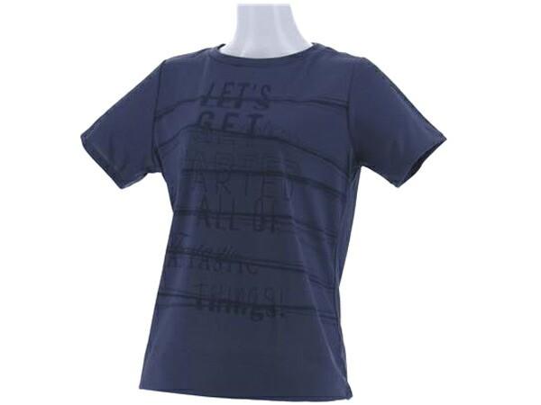 ダンスキン:【レディース】ルーズTシャツ【DANSKIN スポーツ フィットネス 半袖 Tシャツ】