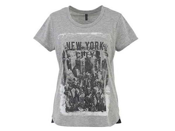 ダンスキン:【レディース】Tシャツ【DANSKIN スポーツ トレーニング Tシャツ 半袖】