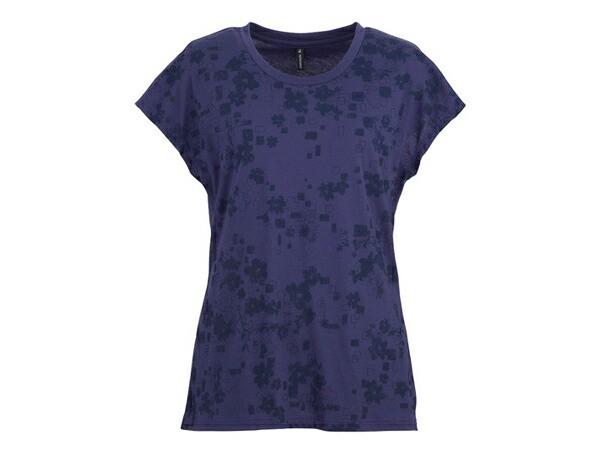 ダンスキン:【レディース】フレンチT【DANSKIN スポーツ フィットネス 半袖 Tシャツ】