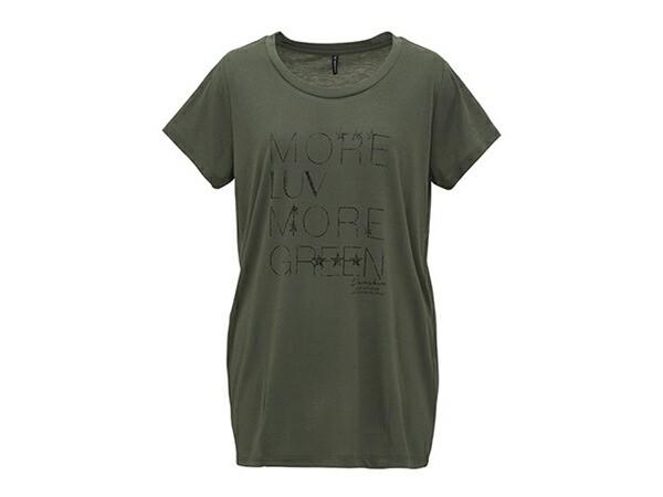 ダンスキン:【レディース】ロングレングスT【DANSKIN スポーツ フィットネス 半袖 Tシャツ】