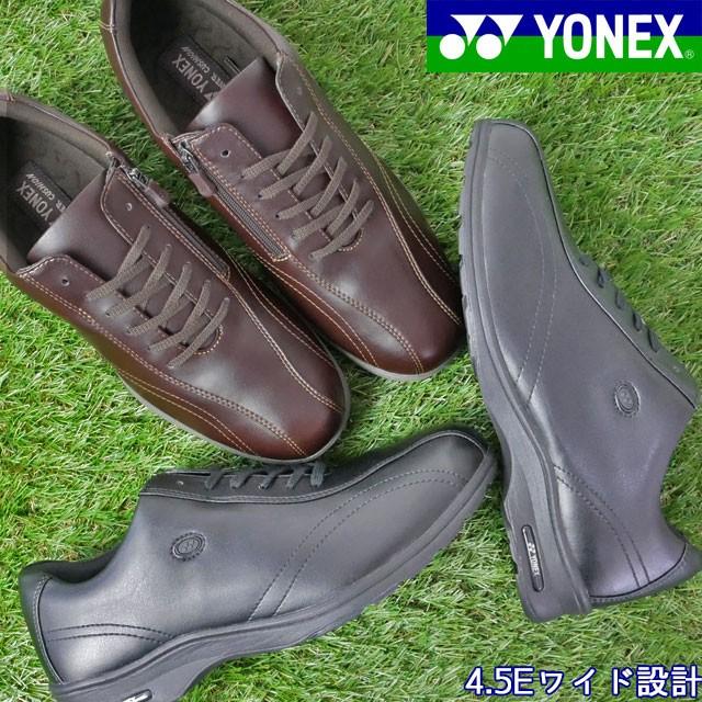 ヨネックス SHW-MC30W パワークッション ウォーキングシューズ / YONEX ウォーキングシューズ メンズ スニーカー BLACK(ブラック) DARK B