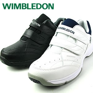 WIMBLEDON ウィンブルドン WM-6000 オールコート対応 メンズ テニスシューズ ホワイト ブラック