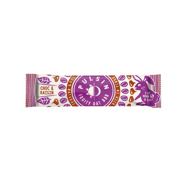 ◆フルーティーオーツバー チョコ レーズン 25g【24個セット】