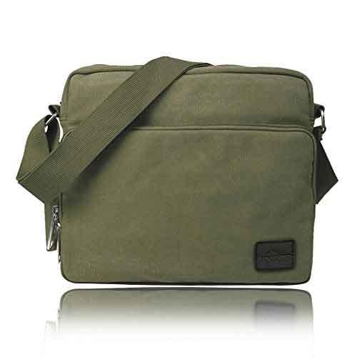 b47ce0e6c536 ショルダーバッグ メンズ 斜めがけ 多機能 紳士用 鞄 かばん 帆布 肩掛け キャンバスバッグ カジュアル A4