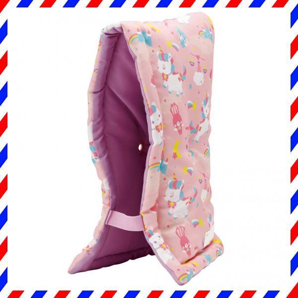 スケーター 座布団 椅子クッション 防災頭巾 子供用 24×42cm ユニコーン KBZU1