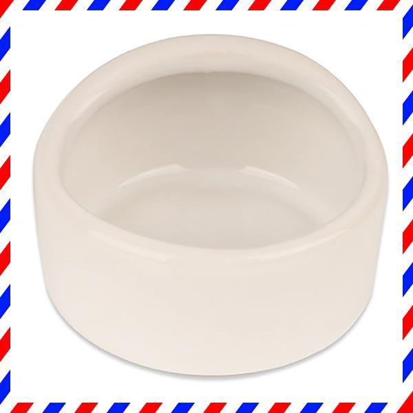 [Cicogna] ハムスター ハリネズミ えさ皿 餌入れ 丸形 モルモット ペット 小動物用 陶器 食器 フードボウル・・・
