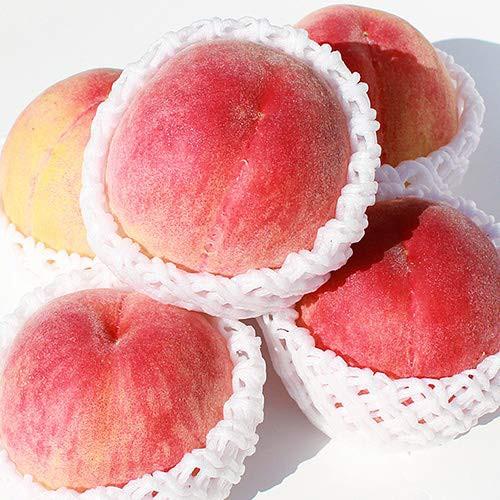 【 旬の厳選産地 】完熟 桃 もも (箱込 約1kg 前後(4〜6玉))