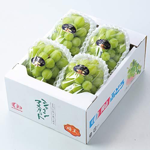 ぶどう シャインマスカット 晴王 赤秀 3〜5房 約2kg 岡山県産 JAおかやま お中元 葡萄 ブドウ