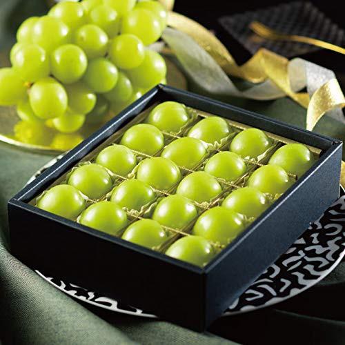 ぶどう シャインマスカット ジュエルセレクション 岡山県産 特秀 L 20粒 葡萄 ブドウ お中元 ギフト