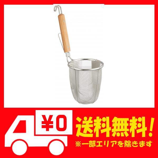 TS ステンレス 深型 ラーメン専用パワーてぼ 極細麺用 16メッシュ