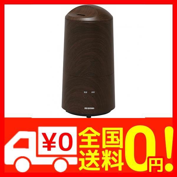 アイリスオーヤマ 超音波式加湿器 樽型 木目調 UHM-280BM-T
