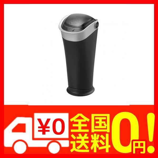 カーメイト 車用 ゴミ箱 ボトルタイプ レザー調 シルバー DZ433