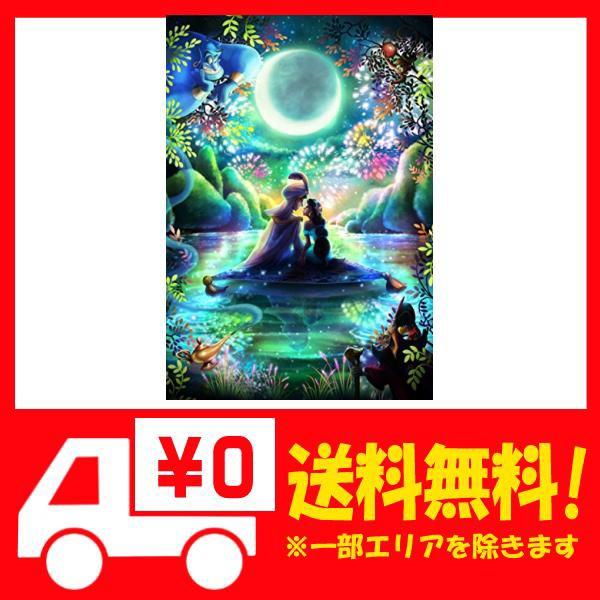 1000ピース ジグソーパズル アラジン 通い合うこころ【光るジグソー】(51x73.5cm)