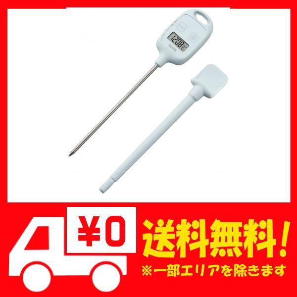 タニタ 温度計 料理 調理 50~240度 ブルー TT-583 BL スティック温度計