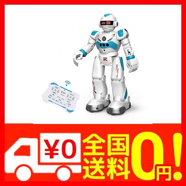 DEERC ロボット おもちゃ 電動ロボット ラジコン 男の子 多機能ロボット プログラム可能 手振り制御 男の子 女の・・・