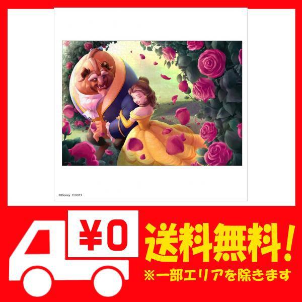テンヨー 1000ピース ジグソーパズル 美女と野獣 薔薇の小径 (51x73.5cm)