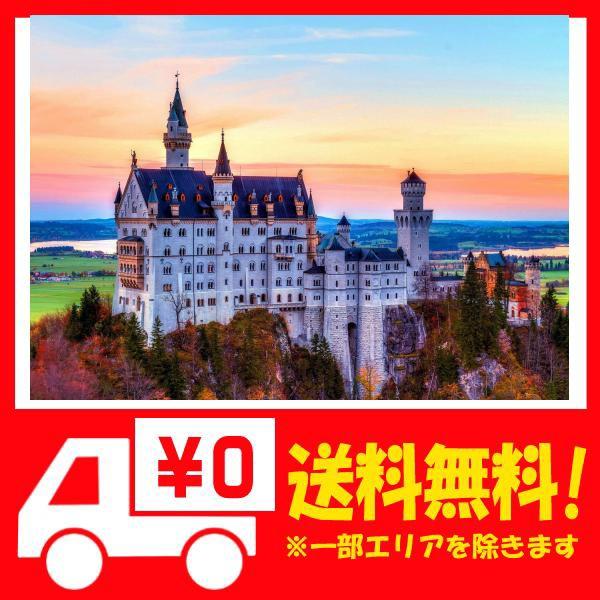 1000ピース ジグソーパズル 風景 ドイツを代表するノイシュヴァンシュタイン城 夢のようなお城 (70×50cm) 推・・・