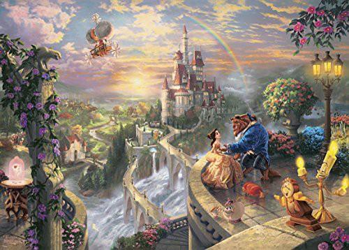 2000ピース ジグソーパズル 美女と野獣 Beauty and the Beast Falling in Love(7・・・