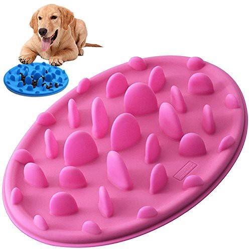 PETBABA(ペットババ) 食器 早食い防止 犬 猫 仔犬 スローフード ペット用 餌入れ ダイエット むせ防止食器 ・・・