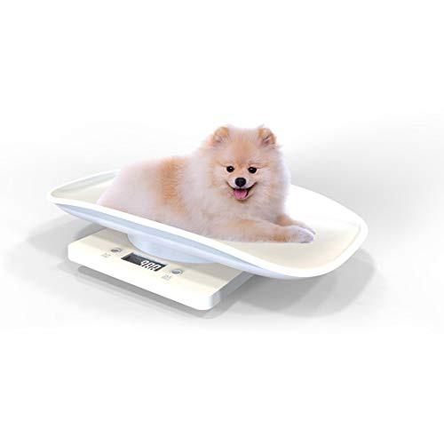 億騰 デジタルペットスケール 電子ペット体重計 小型 精密 ポータブル 小型犬/猫/うさぎなど用 電池式 最大10 kg