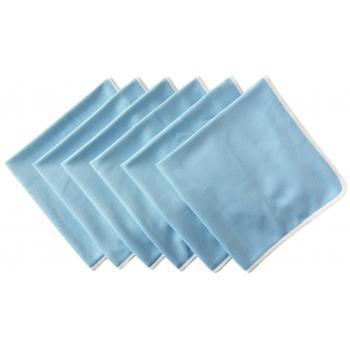 SINLAND 速乾 マイクロ ファイバー ガラス グラス 拭き クロス キッチン 食器 拭き クリーニング タオル 6・・・